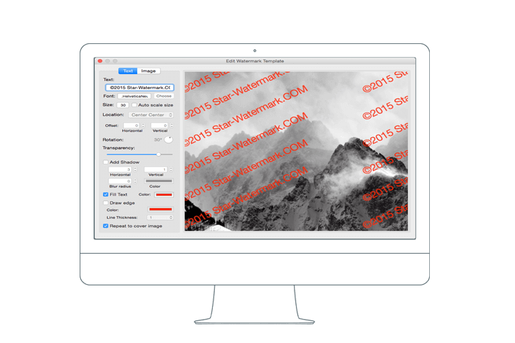 photo watermark for macOS