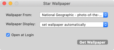 Star Wallpaper for Mac 1.5